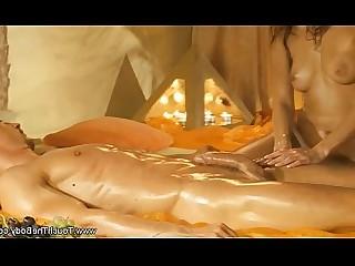 Ass Couple Erotic Lover Massage MILF Oil