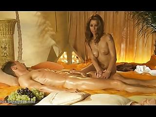 Ass Beauty Couple Erotic HD Lover Massage Oil