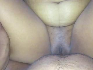 Amateur Creampie Fuck Indian MILF Oil Pussy