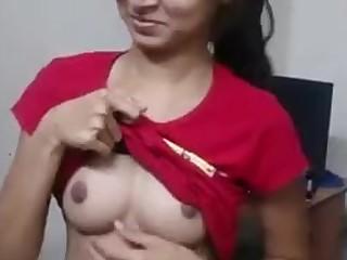 Amateur Boyfriend Brunette Cute Friends Homemade Indian Little
