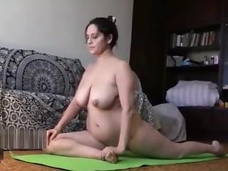 Amateur BBW Flexible Indian Mature MILF Nude